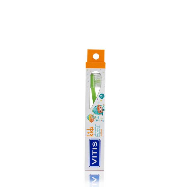 Vitis Kids - +3 jaar tandenborstel - Groen