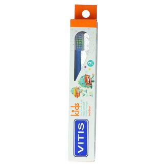 Vitis Vitis Kids - +3 jaar tandenborstel - Blauw