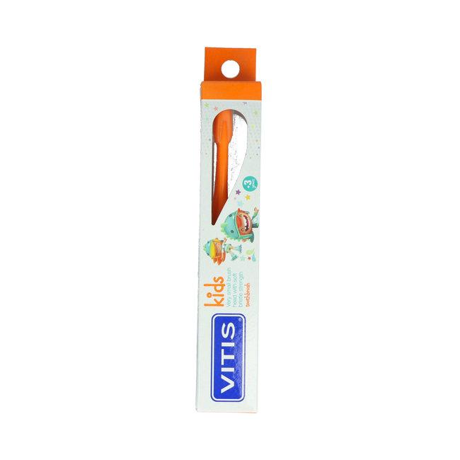 Vitis Vitis Kids - +3 jaar tandenborstel - Oranje
