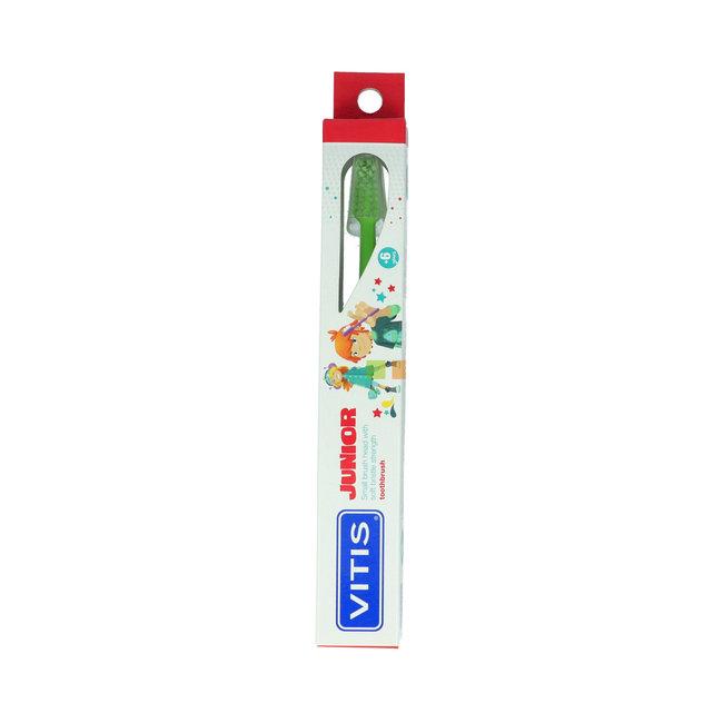 Vitis Junior - 6+ jaar tandenborstel - Groen
