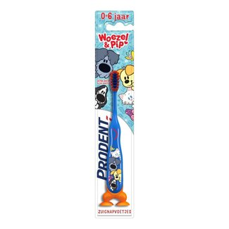 Prodent Prodent Kids - 0-6 Jaar tandenborstel - Woezel & Pip  Blauw