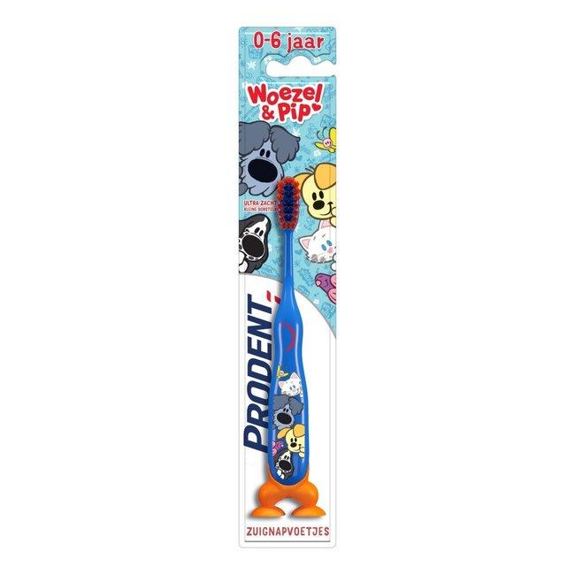 Prodent Prodent Kids - 0-6Jaar tandenborstel - Woezel & Pip  Blauw