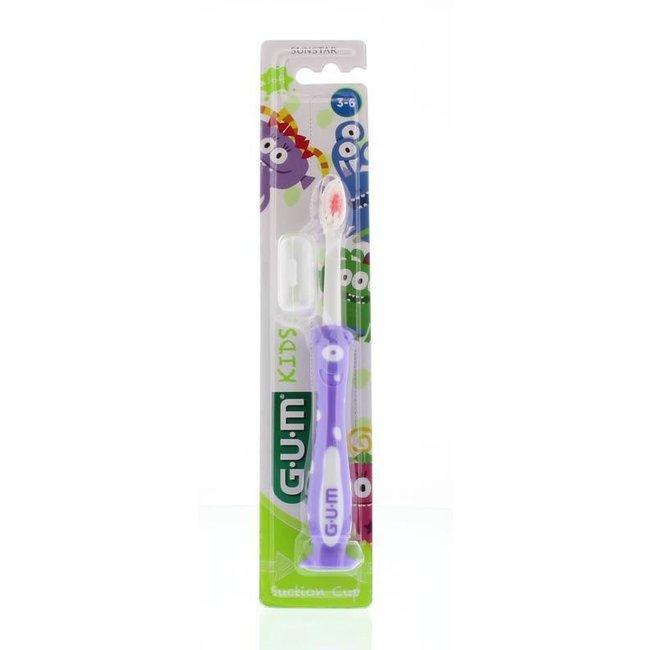 Sunstar-Gum Sunstar Gum Kids  - 3-6 jaar tandenborstel - Paars