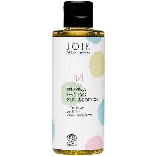 Joik Joik Organic Baby - Relaxing Lavender Bath & Body oil - 100ml