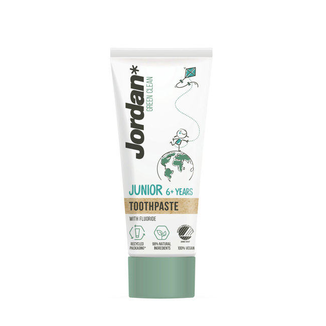 Jordan Jordan Junior 6+ - Green Clean Biologische tandpasta - 50ml