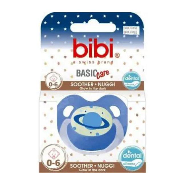 Bibi Bibi Dental - Glow in the dark fopspeen - 0-6 maanden - 1 stuk