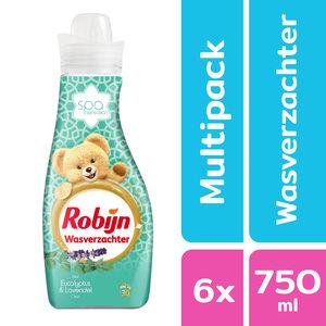 Robijn Robijn Wasverzachter - Spa Sensation Baby - 6x 750ml - Voordeelpack