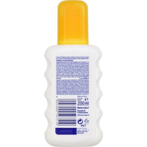 Nivea Nivea Sun Kids - Pure and Sensitive Spray- Factor SPF50+ - 200ml