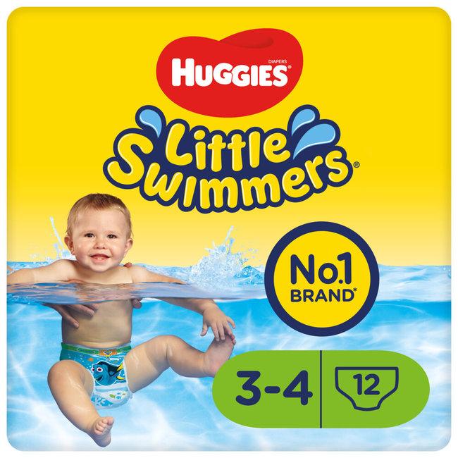 Huggies - Little Swimmers - Maat 3/4 (7-15KG) - 12 stuks