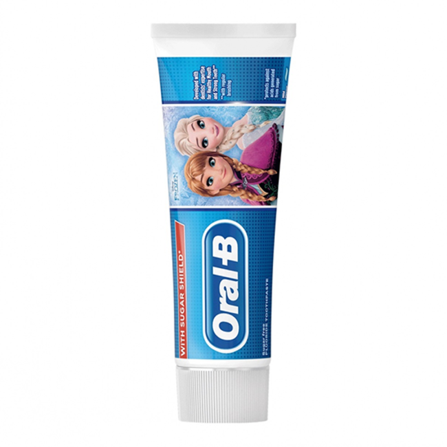 Oral B Oral B Kids - Disney Frozen Tandpasta - 75ml - Met suikerschild