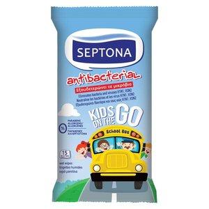 Septona Septona- Anti Bacterial vochtige doekjes - Micro verpakking