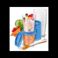 Philips Avent - herbruikbare voedingbakjes 6+ maanden - 21 delig