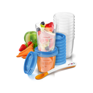 Philips Avent Philips Avent - herbruikbare voedingbakjes 6+ maanden - 21 delig