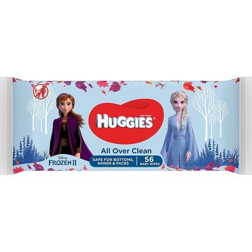 Huggies Huggies Disney Frozen II All Over Clean Billendoekjes - 1 x 56