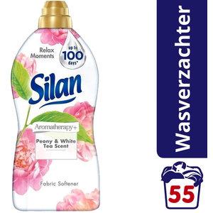 Silan Silan - Wasverzachter Aromatherapy Pioenroos & Witte Thee- 55 wasbeurten