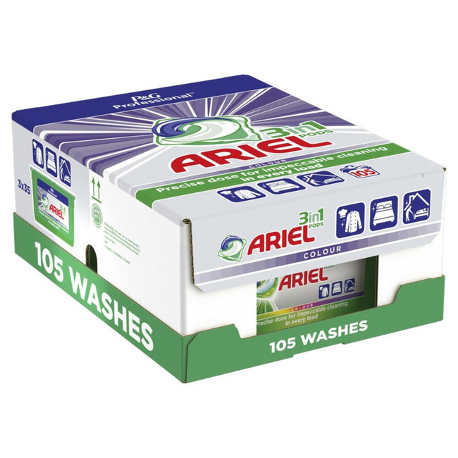 Ariel Ariel - All-in-1 Pods Color Wasmiddel - 105 pods Voordeelbox