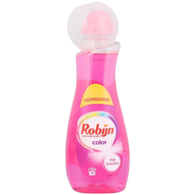 Robijn Robijn - Color Pink Sensation - 750ml met doseerdop Aanbieding