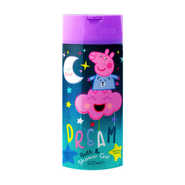 Kokomo Peppa Pig Bad & Douchegel - 400ml Bath&showergel