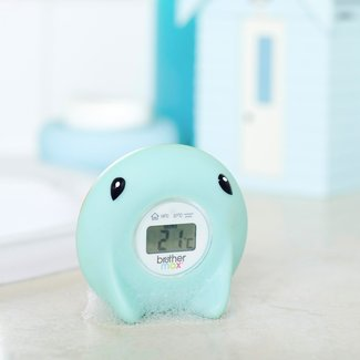 Brother Max Brother Max Digitale  Baby Badthermometer - Ray Blauw