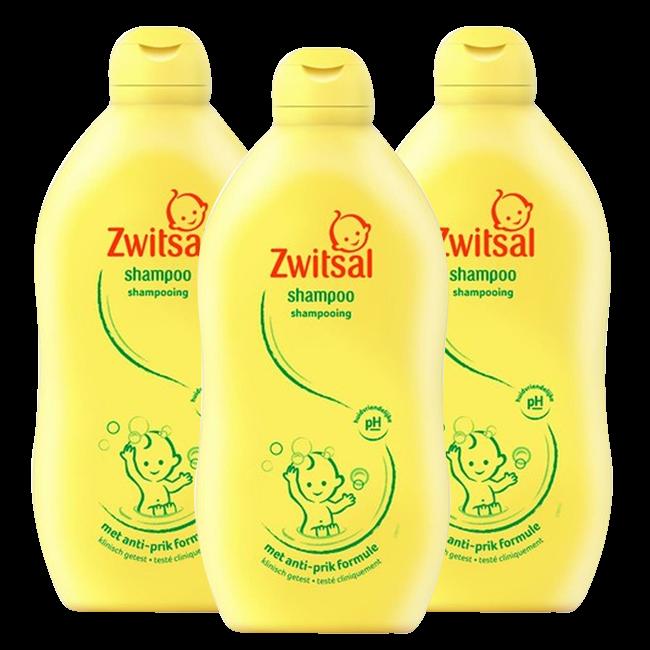 Zwitsal Zwitsal Baby - Shampoo - 3 x 500ml - Voordeelverpakking
