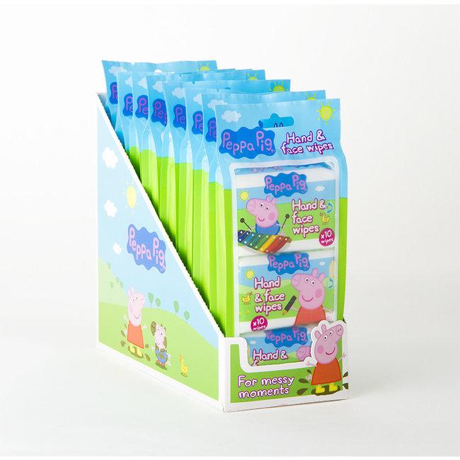 Peppa Pig Peppa Pig - Hand- en gezichtsdoekjes snoetenpoetsers -  30 doekjes
