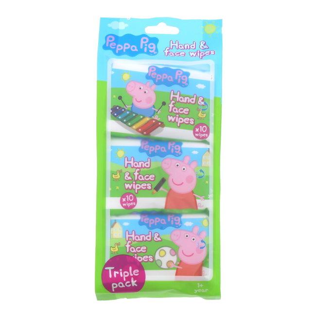Peppa Pig - Hand & Gezichtsdoekjes Snoetenpoetsers - 30 doekjes
