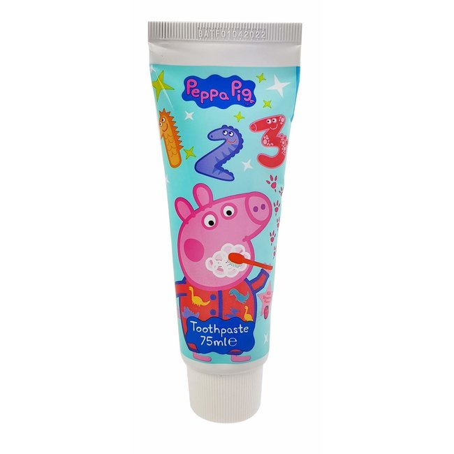 Peppa Pig Peppa Pig - Tandpasta - Milde Mint smaak - 75ml