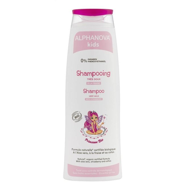 Alphanova Kids - Princess Biologische Shampoo - 250ml