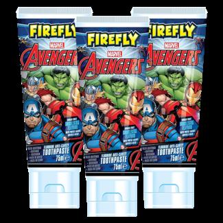 Marvel Marvel Avengers Kids - Tandpasta - 3 x 75ml - Bubble Gum Smaak - Voordeelverpakking