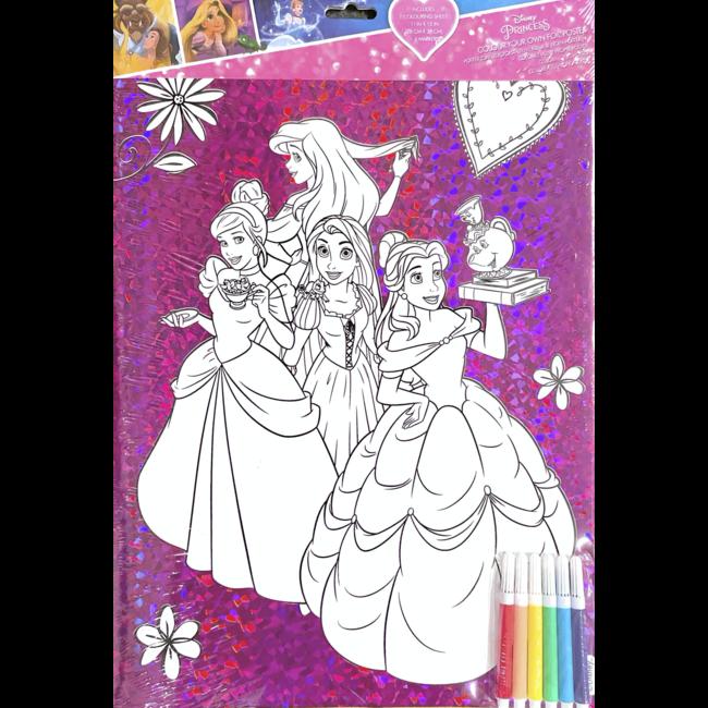 Disney - Princess Kleurplaat inclusief stift