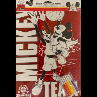 Disney Disney - Mickey Mouse Kleurplaat