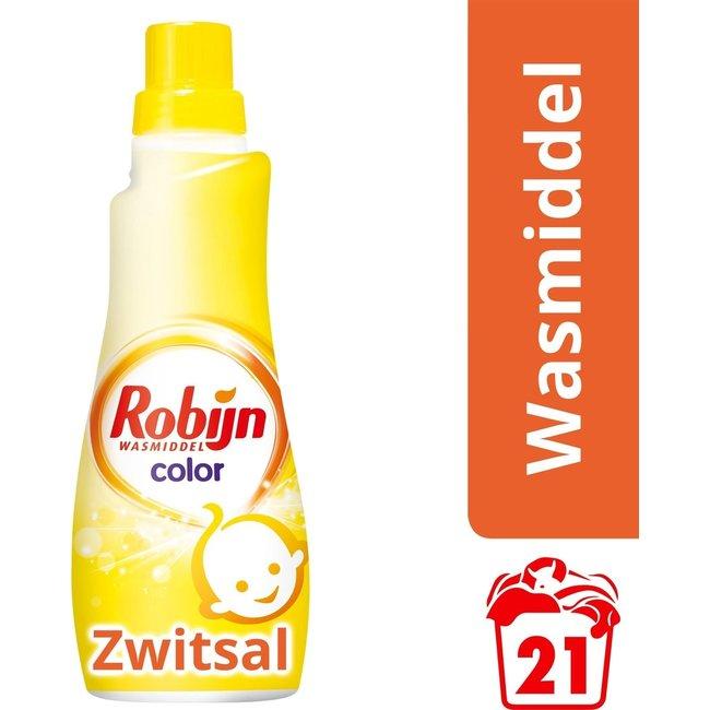 Robijn Robijn Klein & Krachtig Color Zwitsal Wasmiddel - 21 wasbeurten - 735 ml