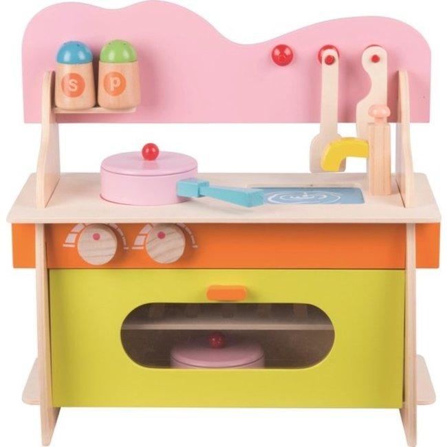 Marionette - Houten Speelgoed Keuken - inclusief 10 Accessoires