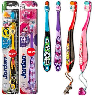 Jordan Jordan Kids - Tandenborstel Soft 6-9 jaar - Willekeurig