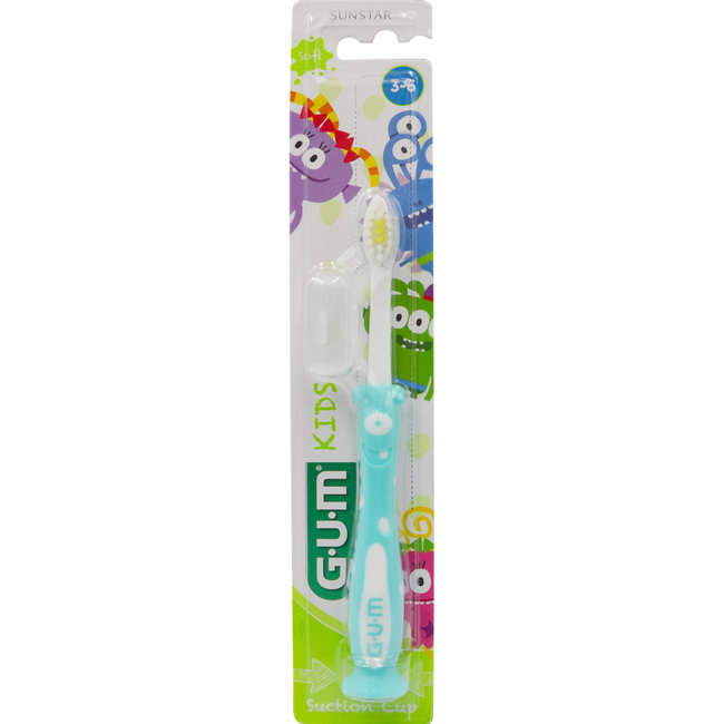Sunstar-Gum Sunstar Gum Kids - 3-6 jaar tandenborstel - Blauw