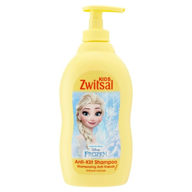 Zwitsal Zwitsal Baby - Anti Klit Shampoo Disney Frozen - 6 x 400ml  - 6-Pack Voordeelverpakking