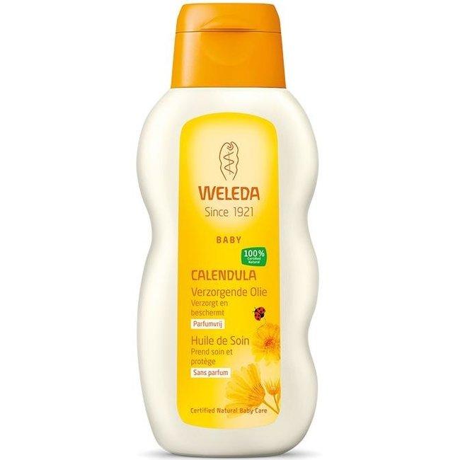 Weleda Calendula - Verzorgende Baby Olie - 3 x 200ml – Voordeelverpakking