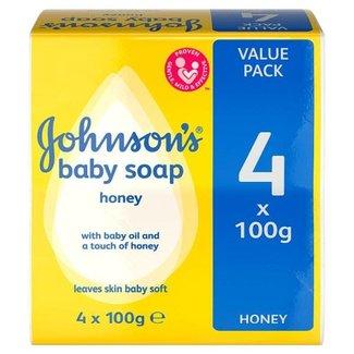 Johnson's Johnson's - Baby zeep - 4 x 100gr. - met honing extract