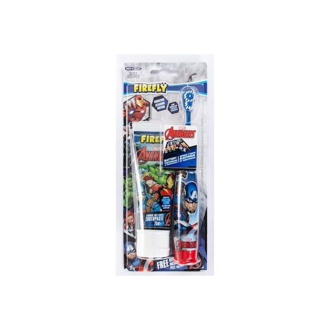 Marvel Marvel Avengers - Elektrische tandenborstel + Tandpasta - Setvoordeel