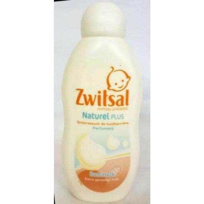 Zwitsal Naturel Plus -  Badmelk - Extra gevoelige huid - 200ml