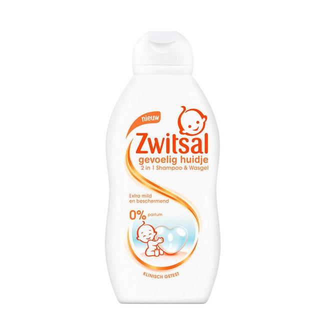 Zwitsal - Shampoo & Wasgel - 200ml - Gevoelige huidje