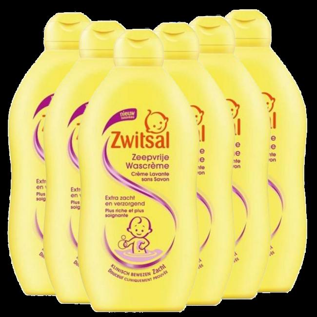 Zwitsal Zwitsal Baby - Schuimbad - 6 x 500ml  - 6-Pack Voordeelverpakking