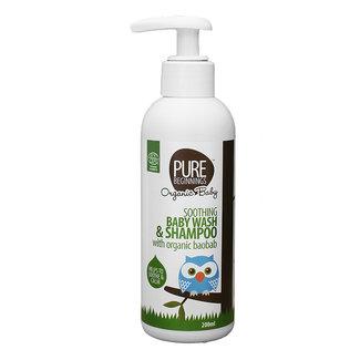 Pure Beginnings Pure Beginnings - Shampoo & Wasgel - 200ml