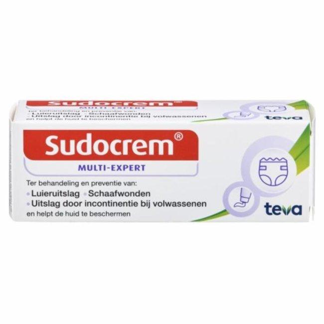 Sudocrem- Luier & Billencrème tube - 30gr - Multi Expert