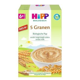 Hipp Hipp - Biologische Pap - 5 granen - 6+ maanden - 200 gram