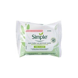 Simple Simple - Eye make-up remover pads - 30 stuks