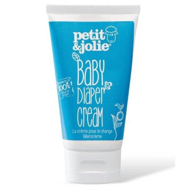 Petit & Jolie - Baby Luier & Billen Crème - 50ml - Mini reisverpakking
