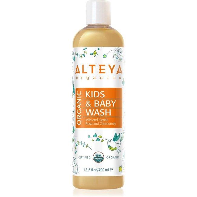 Alteya Organics - Baby Bad & Wasgel - 400ml - Biologisch & Mild