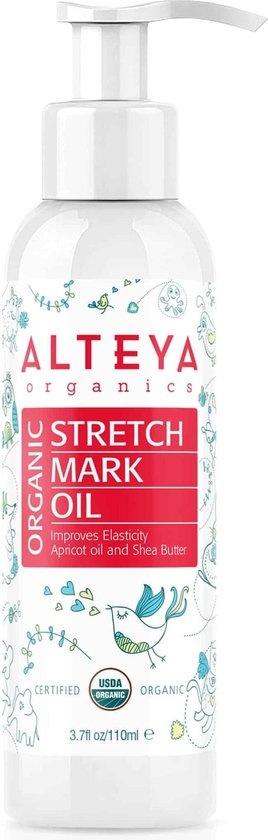 Alteya Organics - Biologische Anti-striae Olie - 110ml - Biologisch & Mild - Met Pompje