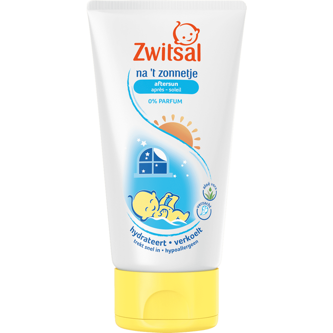 Zwitsal - Aftersun crème - 0% Parfum - Na 't Zonnetje - 150ml